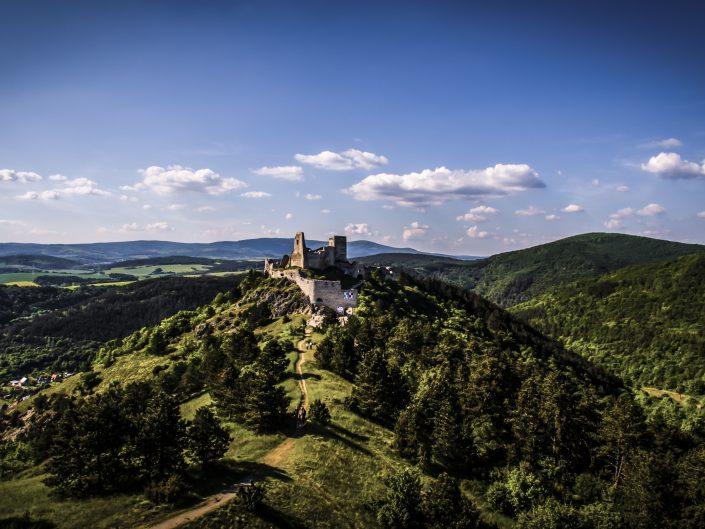 Čachtický hrad 2016