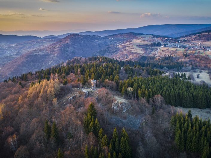 Rozhľadňa - Krahuľský vrch (2017)